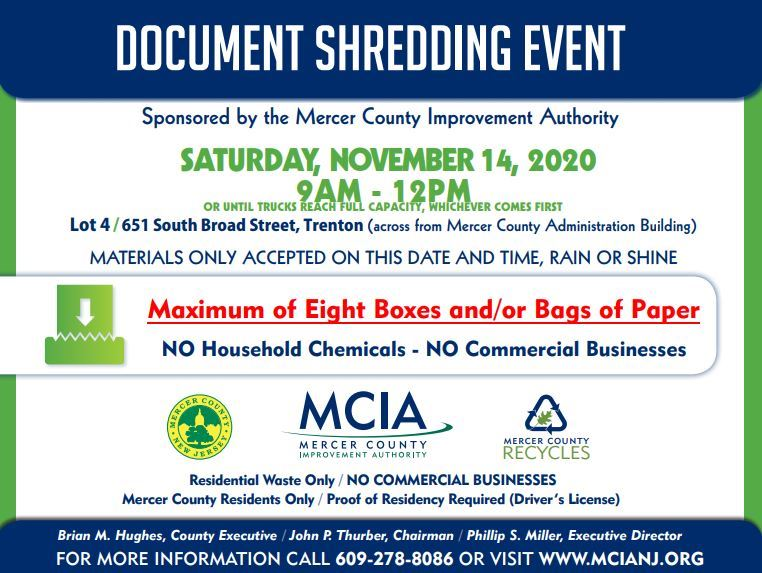 shredding event 11142020